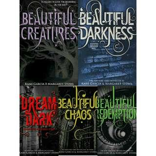 Ebook Novel Kami Garcia, Margaret Stohl: Beautiful Creatures Books