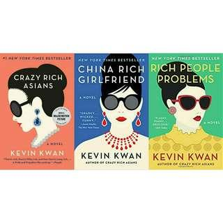 Ebook Novel Kevin Kwan: Crazy Rich Asian Books