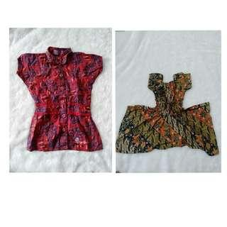 All dress&atasan batik (titipan)