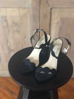 Zara suede sandal size 36