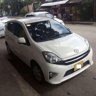 2015 Toyota Wigo 1.0G White AT