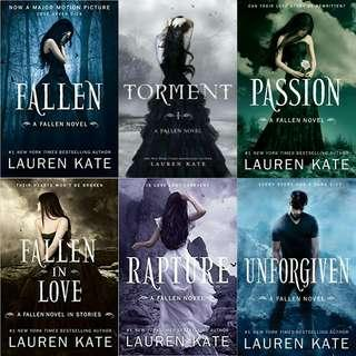 Ebook Novel Lauren Kate: Fallen Series