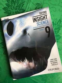 Oxford Insight Science Stage 5 [Jenny Zhang et al]