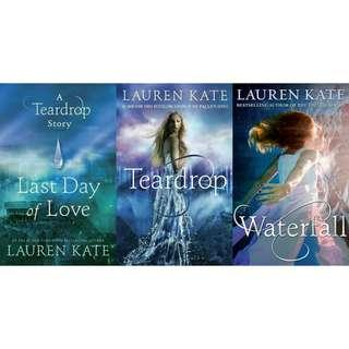 Ebook Novel Lauren Kate: Teardrop Series