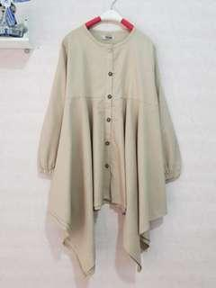 Asimetri Jumbo blouse Waka All Size