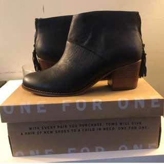 Toms Leila Ankle Boots (Sz 8.5 Wmns)