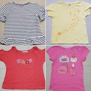 Shirt bundles for girls