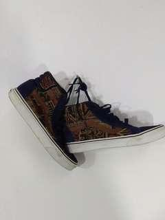Vans highcut design