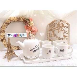 tea set gelas glass cangkir mug cup unik mewah perlengkapan rumah dapur pesta kantor toko home decoration party planner supplier kitchen shop office dekorasi property murah cantik hampers hadiah gift kado pernikahan wedding shabbychic vintage turki turkey