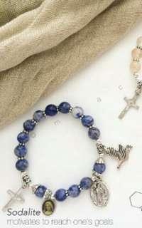 Stainless Hypoallergenic Rosary Bracelet
