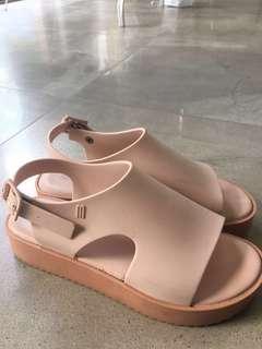Melissa Flatform Nude Pink Sandals