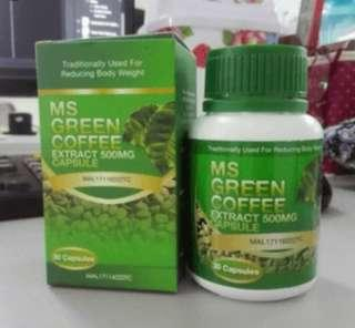 MS GREEN COFFEE EXTRACT