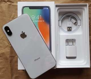 Preloved IPhone X, 256GB, Space Gray, Factory Unlocked