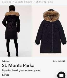 Aritzia Babaton St Moritz Parka