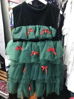 Christmas dress / custom - 92cm width and 80cm long