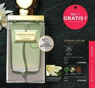 PO Set Parfume Sublime Nature Buy 1 Get 1 Free