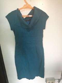 Kimono Blue / Green / Teal Dress