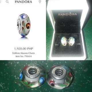 Original Pandora Forklore Murano Charms