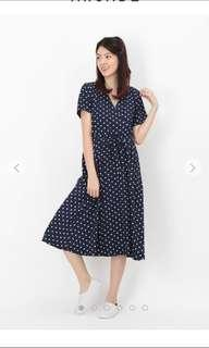 Afa polka dots dress