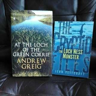 The Loch Ness Monster and At The Loch Of The Green Corrie