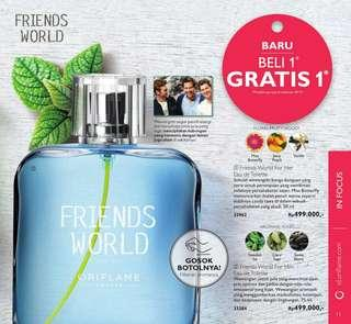 PO Set Parfume Friends World Buy 1 Get 1 Free