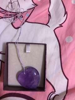 心型紫水晶