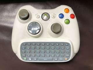Xbox 360 control with keypad