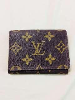 SALE!!!! Authentic LV Card Wallet