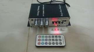 🚚 USB SD amplifier 迷你擴大機