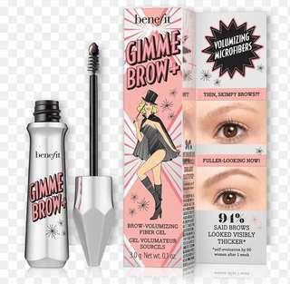 Gimme Brow + shades #1,3,5 - Benefit Cosmetics