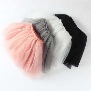 🚚 Instock - fluffy tutu skirt, baby infant toddler girl