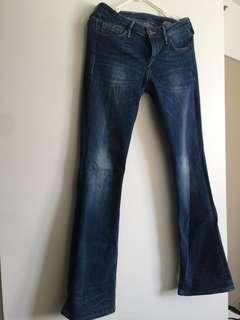 H&M Bootcut Low Waist size 26/30
