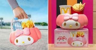 My Melody cup holder mcdonald's limited edition