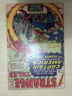 🚚 Strange Tales Vol. 1 #114 - '1st' appearance of Silver Age Captain America