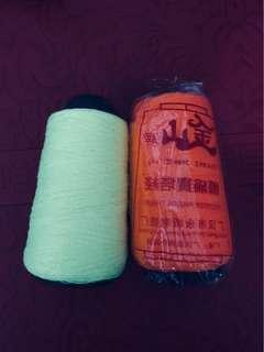 🚚 Clearance BN Neon Yellow & Orange Thread