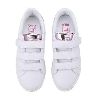 韓國代購🇰🇷FILA Court Deluxe Bold Shiny厚底 女裝鞋