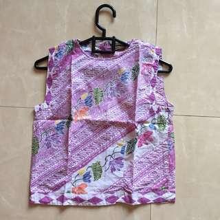 Pastel Batik Blouse