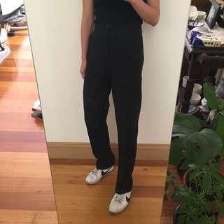 Vintage high waisted black pants