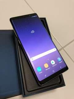 Samsung Note 8 - bought in Dec2017
