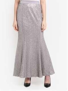 Zalora Zalia Sequin Mermaid Skirt