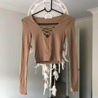 Tan Kookai Long Sleeve