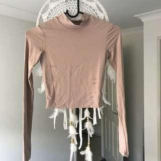 Peach Kookai Long Sleeve