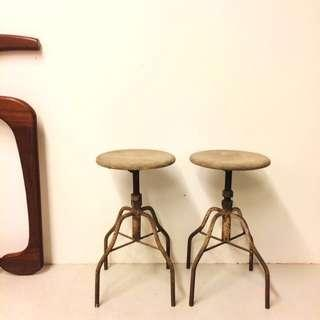 YEAR END CRAZY SALE : 1950s Stool