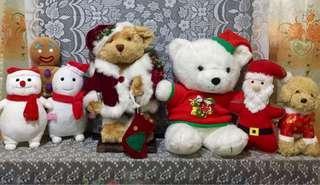 PRELOVED CHRISTMAS DECOR SET