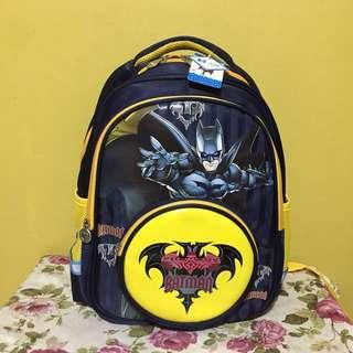 Batman Kids School Bag