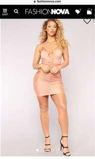 BNWT Silk Nude Dress