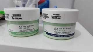 The body shop aloe cream