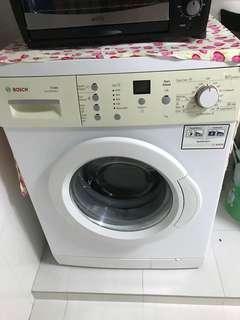 Bosch front load wash machine 7kg