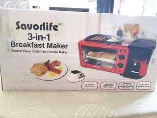 3 In 1 Breakfast Maker Coffee Maker