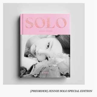 [PREORDER] JENNIE SOLO PHOTOBOOK SPECIAL EDITION